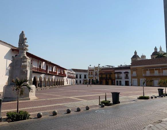 Plaza Santo Domingo Cartagena de Indias